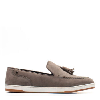 BASE LONDON POGO SUEDE GREY